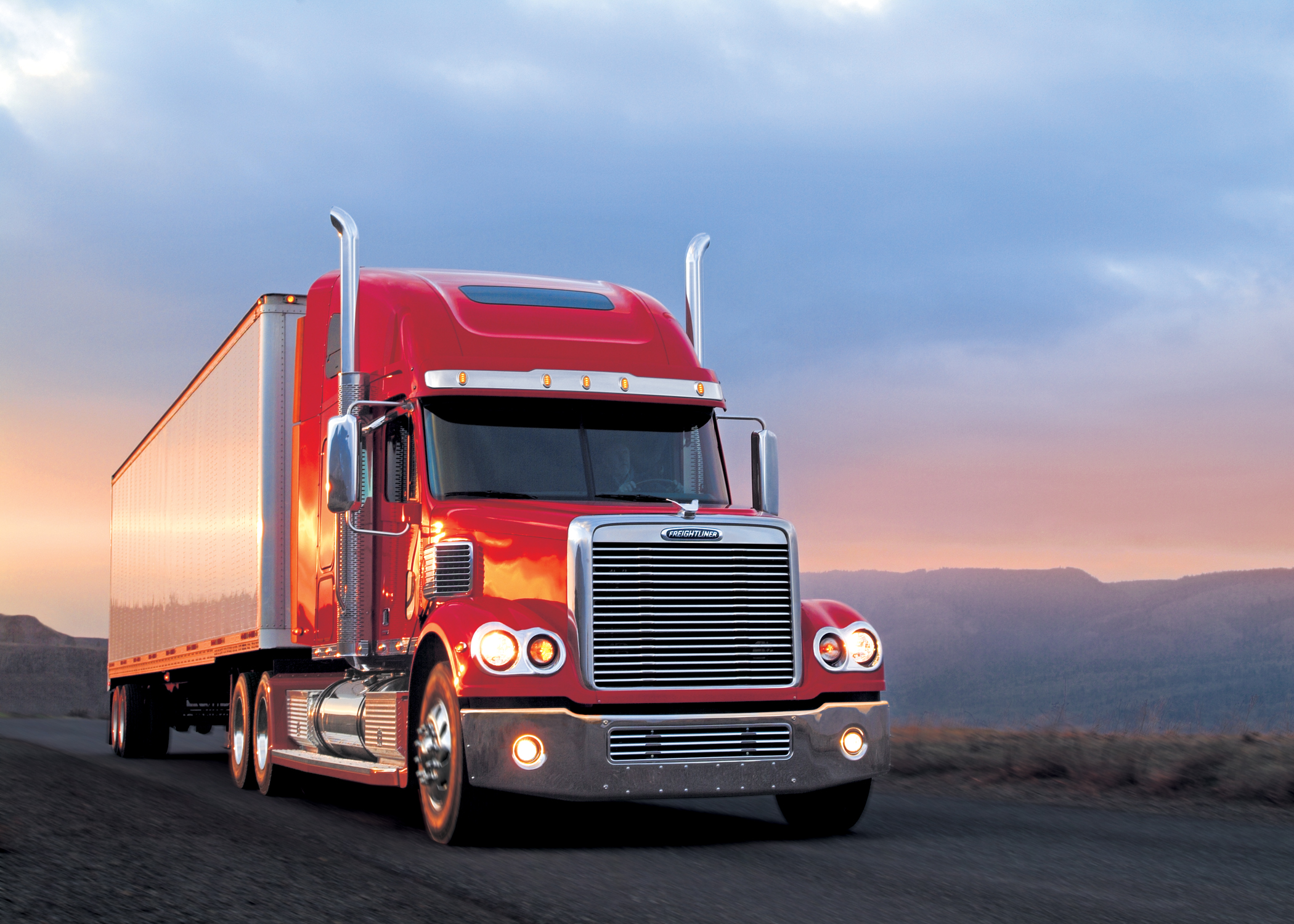 Freightliner Truck Image